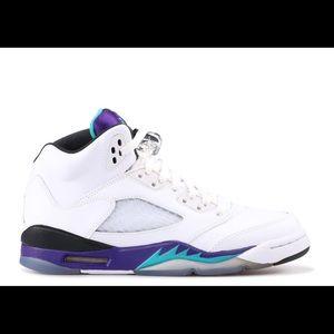 """Air Jordan Retro 5 """"Grape"""""""